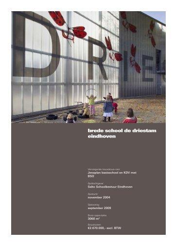 brede school de driestam eindhoven - Architecten