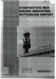 startnotitie mer nieuwe inrichting rotterdam airport