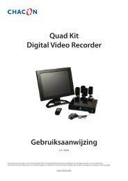 Quad Kit Digital Video Recorder - Chacon