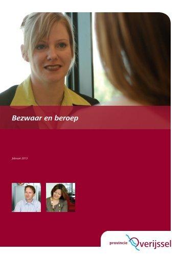 Folder bezwaar en beroep 2013.pdf - Provincie Overijssel