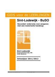 Klik hier voor het schoolreglement - VZW Sint-Lodewijk