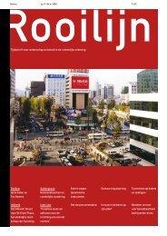 Kennisnetwerken en ruimtelijke clustering - Rooilijn