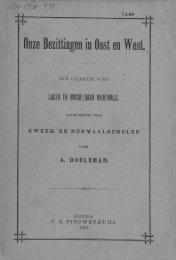 Onze Bezittingen in Oost en West. - Acehbooks.org