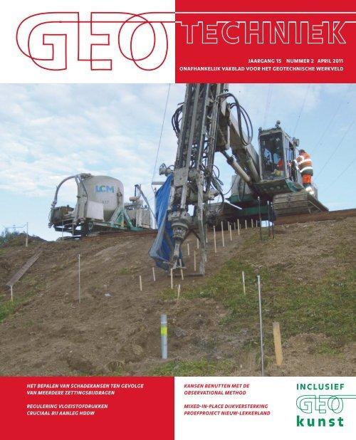 Complete pdf - GeoTechniek