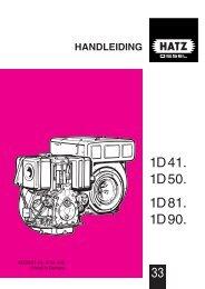 1D41. 1D50. 1D81. 1D90. - bei HATZ