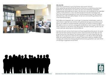 Bureau Documentatie Dana Ponec architecten