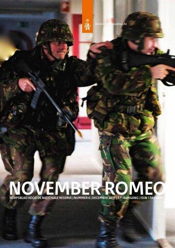 November romeo - Korps Nationale Reserve