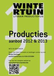 aanbod producties 2012-2013 full-colour - Wintertuin