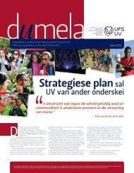 Strategiese plansal - University of the Free State