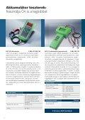 A tesztelés, töltés és indítás szakértői Akkumulátor szerviz ... - Bosch - Page 4