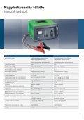 A tesztelés, töltés és indítás szakértői Akkumulátor szerviz ... - Bosch - Page 7
