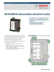 BCM-0000-B akkumulátor-ellenőrző modul - Bosch Security Systems