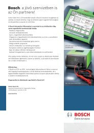Bosch S5 és S6 akkumulátor katalógus - Medic-car