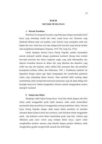 32 BAB III METODE PENELITIAN A. Metode Penelitian Penelitian ini ...
