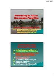 Penyusunan Proposal Penelitian - Prof. Dr. Almasdi Syahza, SE, MP ...