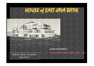 HOUSE of EAST JAVA BATIK - Digilib ITS