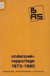 onderzoek- rapportage - Technische Universiteit Eindhoven