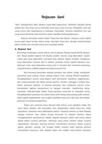Tinjauan Seni - Direktori File UPI
