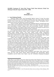 Pandangan M. Amien Rais Tentang Politik Islam Indonesia-Solihin ...