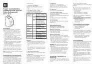 vejledning til IHC Control® Alarm Backupmodul 24 V / 12 V