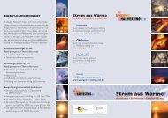 Flyer deutsch - Energy Harvesting Net