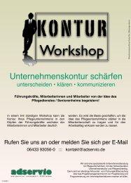 KONTUR-Workshop - adservio
