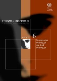 pedoman informasi - Buku 6, ‎pdf - International Labour Organization