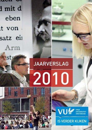JAARVERSLAG - Vrije Universiteit Amsterdam