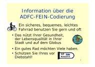 IHR - beim ADFC