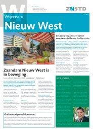 Wijkkrant Nieuw West juli 2012 - Gemeente Zaanstad