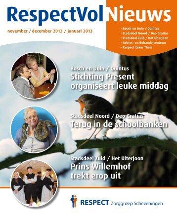 RespectVolNieuws - RESPECT Zorggroep Scheveningen