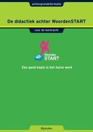 De didactiek achter WoordenSTART