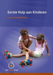 Eerste Hulp aan Kinderen - Het Oranje Kruis
