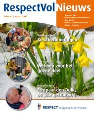 RespectVolnieuws feb-maa-2012 - RESPECT Zorggroep ...