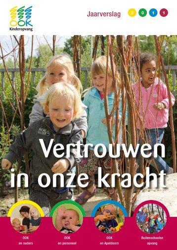 Jaarverslag 2011 - Kinderopvang OOK
