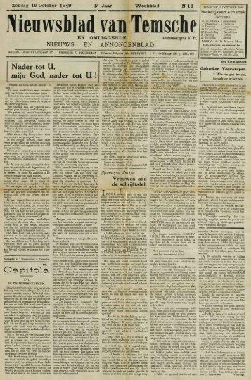 Nieuwsblad van Temsche