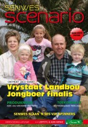 Vrystaat Landbou Jongboer finalis - Senwes Tuisblad