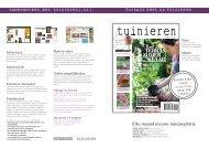 Tuin&Co heet nu Tuinieren samenwerken met tuinieren(.nl) - Sanoma