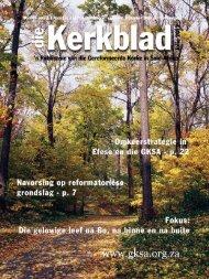 Die Kerkblad Julie 2012.indd - CJBF