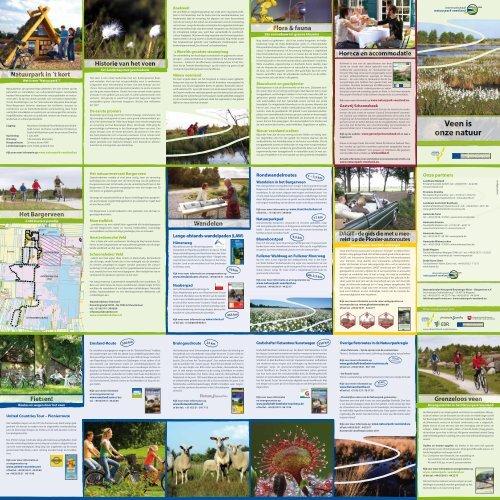 Lange-afstands-wandelpaden (LAW) - Naturpark Bourtanger Moor