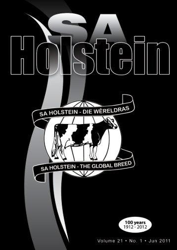 SA Holstein June 2011 - Saholstein.co.za