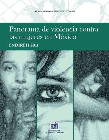 Panorama de violencia contra las mujeres en México