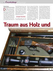 Traum aus Holz und Stahl - bei der Firma Alfred Schilling