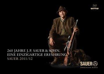 SAUER-Katalog 2011/2012 - deutsch (PDF 9 MB)