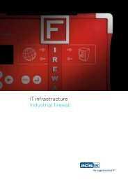 IT infrastructure Industrial firewall - ads-tec