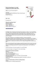 Sicheres Anschlagen von Lasten - ABZ Handels GmbH
