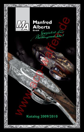 Katalog 2009/2010 - ACP-Waffen