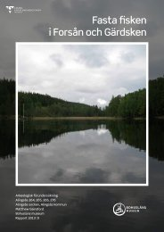 Fasta fisken i Forsån och Gärdsken