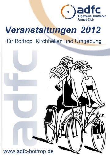 Mehrtagestouren 2012 - beim ADFC
