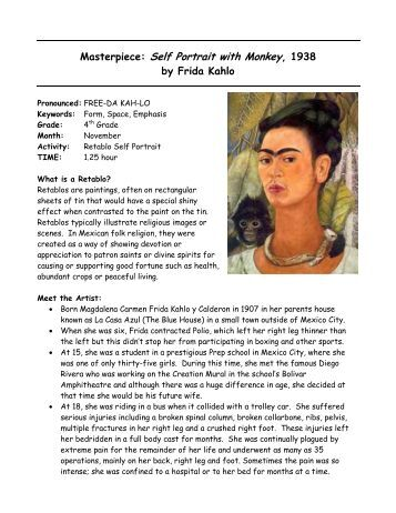 Worksheets Frida Kahlo Worksheets collection of frida kahlo worksheets sharebrowse sharebrowse